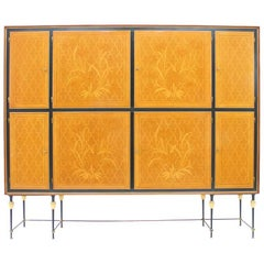 Nice Highboard, Cabinet by Hans Wauer, 1950s