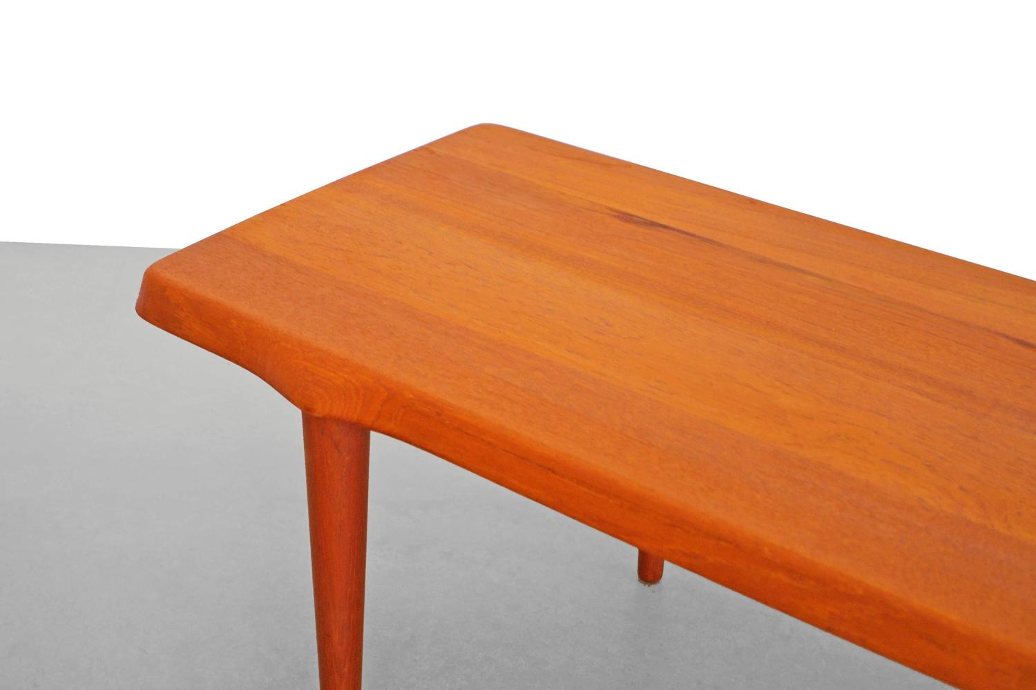 Teak Coffee Table By John Bone Denmark 1960s At 1stdibs
