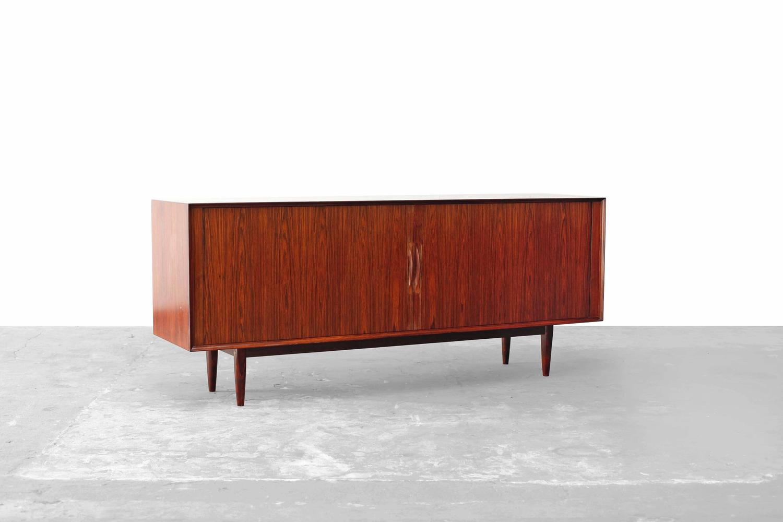 danish modern rosewood sideboard no 75 by arne vodder sibast 1960 at 1stdibs. Black Bedroom Furniture Sets. Home Design Ideas