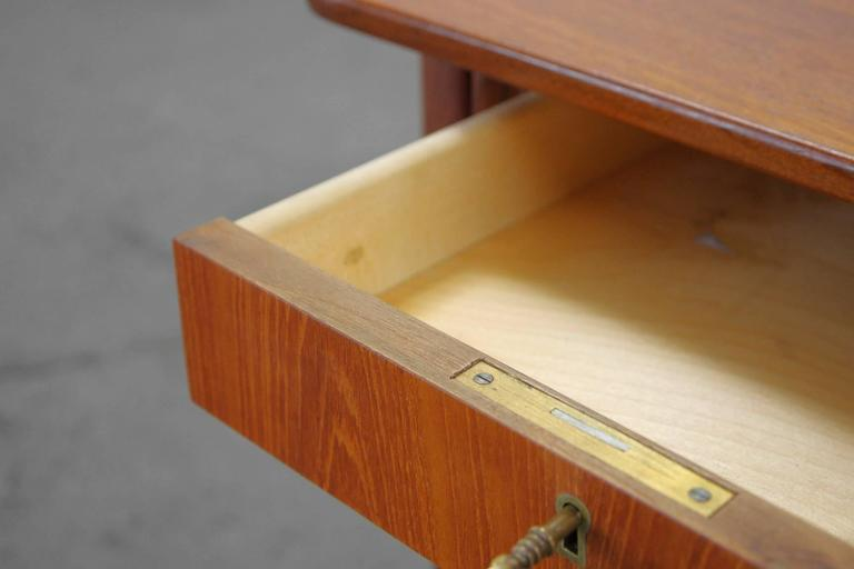 Teak Desk by Svend Aage Madsen Typ 200 Danish Modern, 1960s For Sale 2
