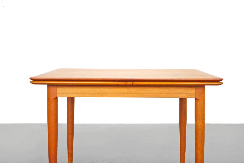 Danish Modern Teak Dining Table By Skovmand And Andersen