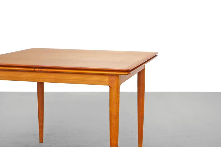 Ordinaire Scandinavian Modern Danish Modern Teak Dining Table By Skovmand U0026 Andersen,  1960s For Sale