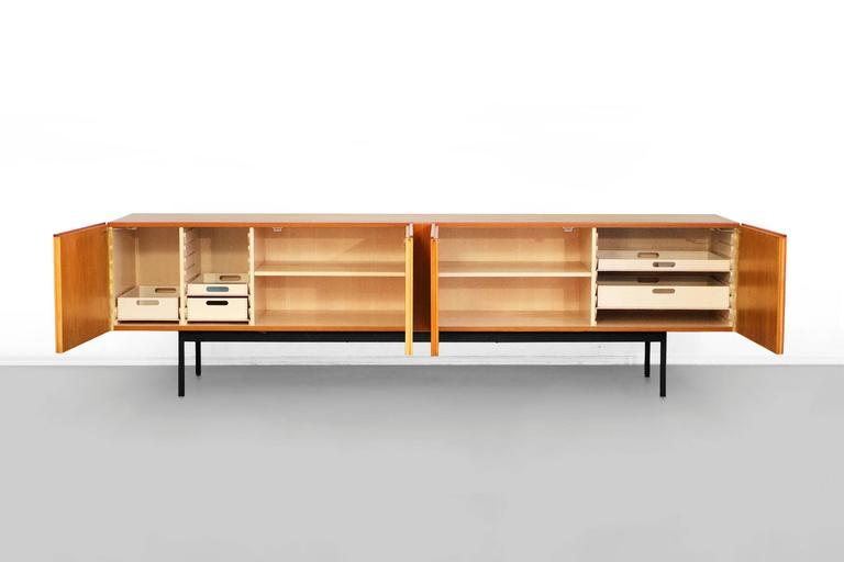 Teak sideboard by dieter waeckerlin b40 credenza behr for Sideboard 40er