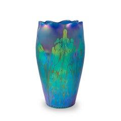 "Loetz Mouthblown Glass Vase Phenomen 2/484 ""Medici"""