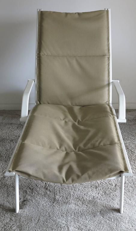 American Vintage Brown Jordan Elan Collection Chaise Lounge, 1980s
