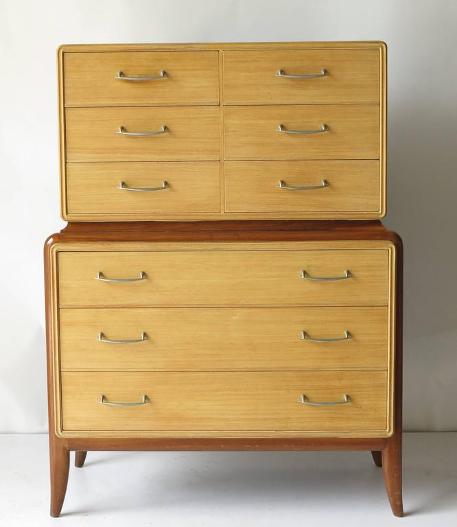Mid-Century Bedroom Set Five Pieces At 1stdibs