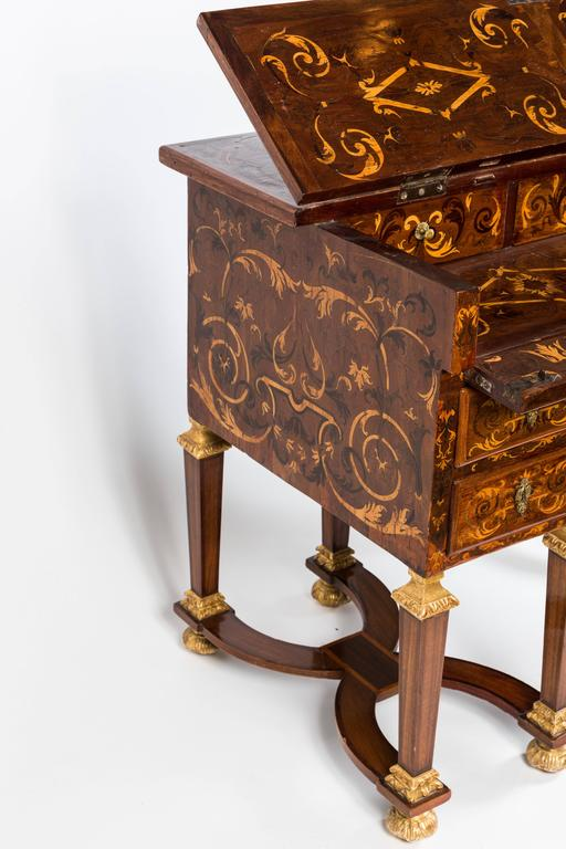 """French """"Mazarin"""" Desk In Excellent Condition For Sale In Los Angeles, CA"""