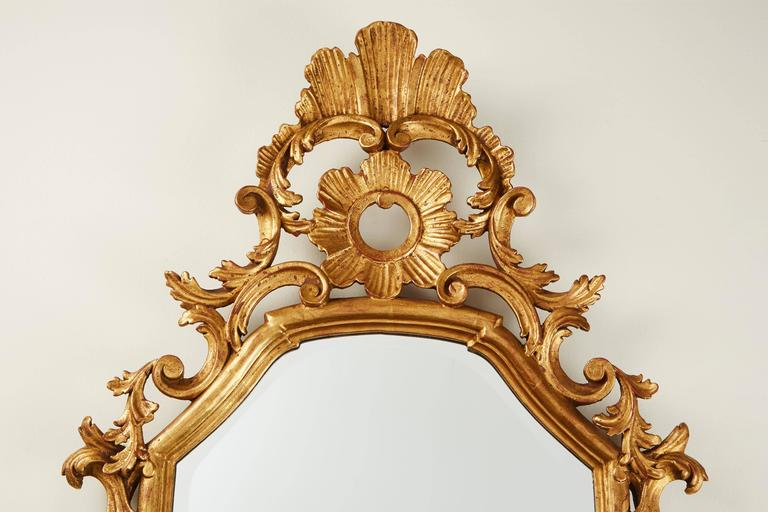 19th Century French Gilded Mirror 2
