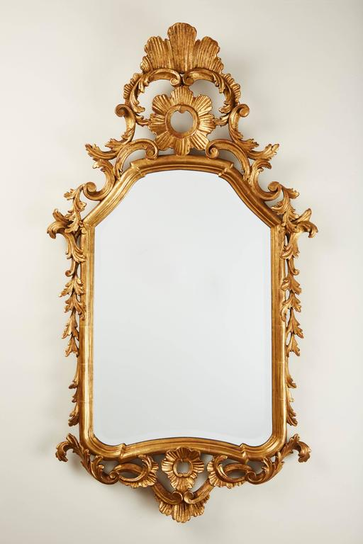 19th Century French Gilded Mirror 7