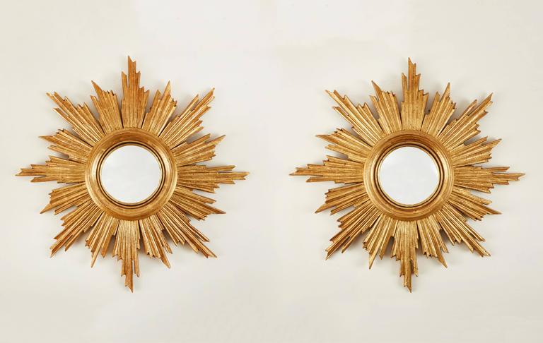 Pair of Sun Convex Mirrors 6
