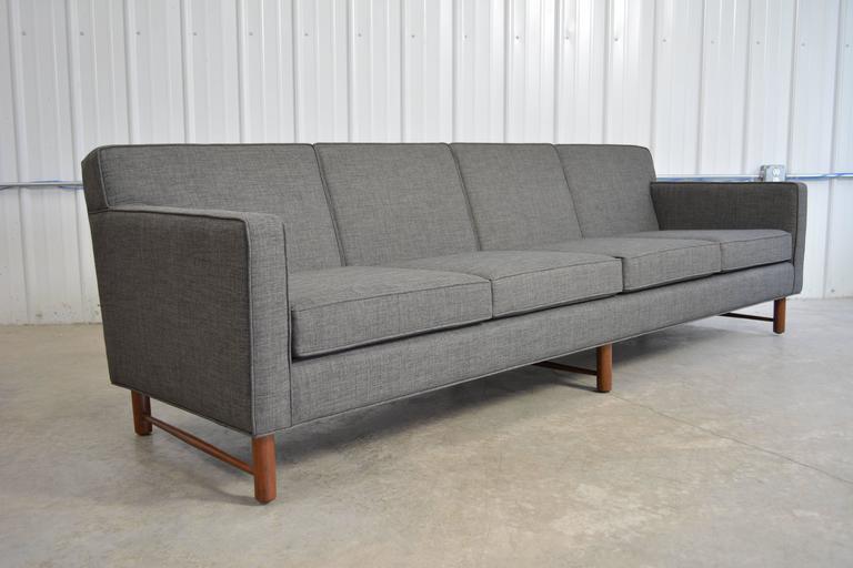 Lovely Edward Wormley Sofa For Dunbar At 1stdibs