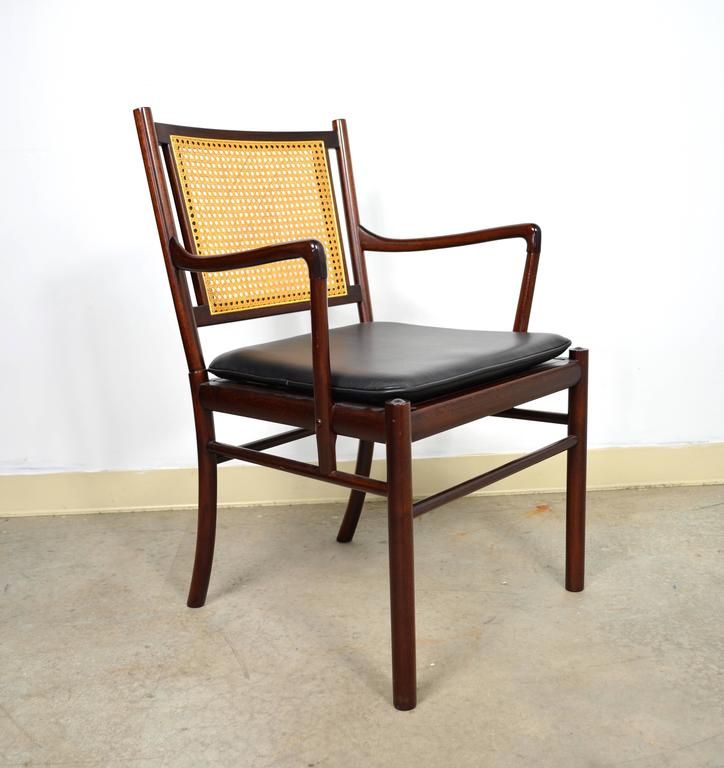 Colonial Armchair: Pair Of Colonial Armchairs By Ole Wanscher For P