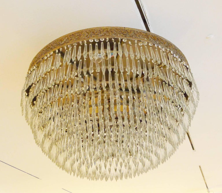 Grand Stunning Crystal Chandelier For Sale At 1stdibs