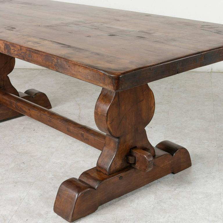 French Farm Table Dining Table with Trestle Made of Alder  : 17A26410l from www.1stdibs.com size 768 x 768 jpeg 61kB