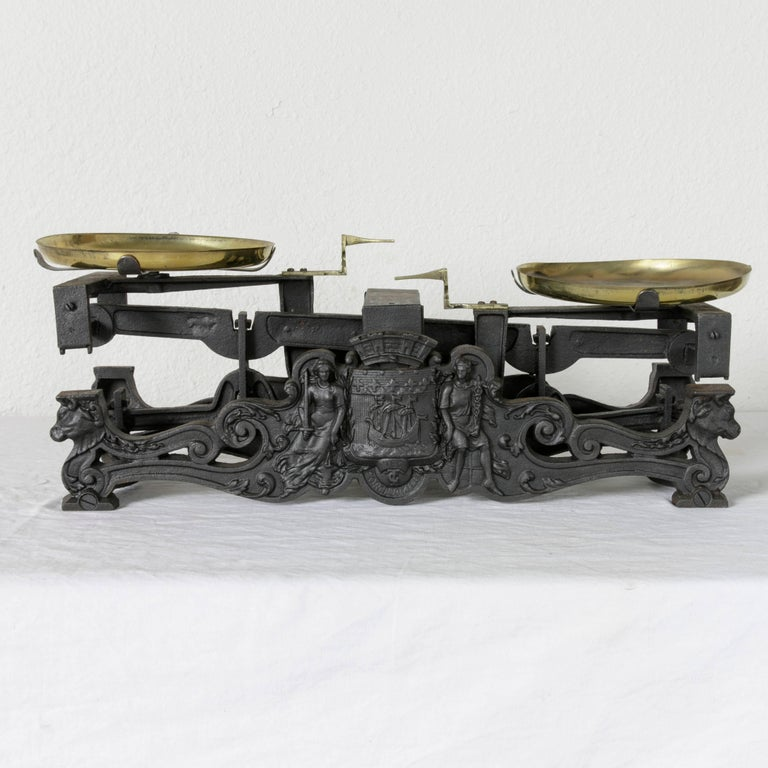 Set Of Late 19th Century Double Faced French Iron Baker S