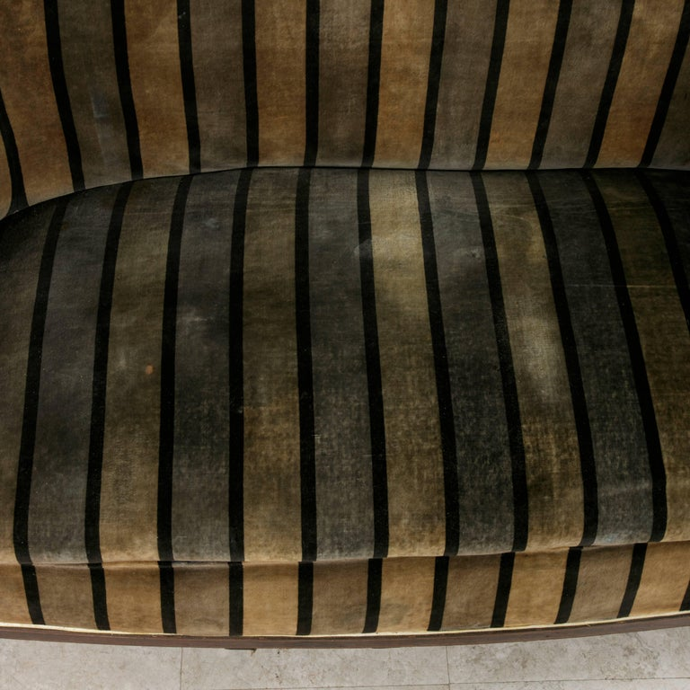 Early 20th Century Art Deco Period Mahogany, Lemon Wood, Sycamore Settee or Sofa For Sale 4