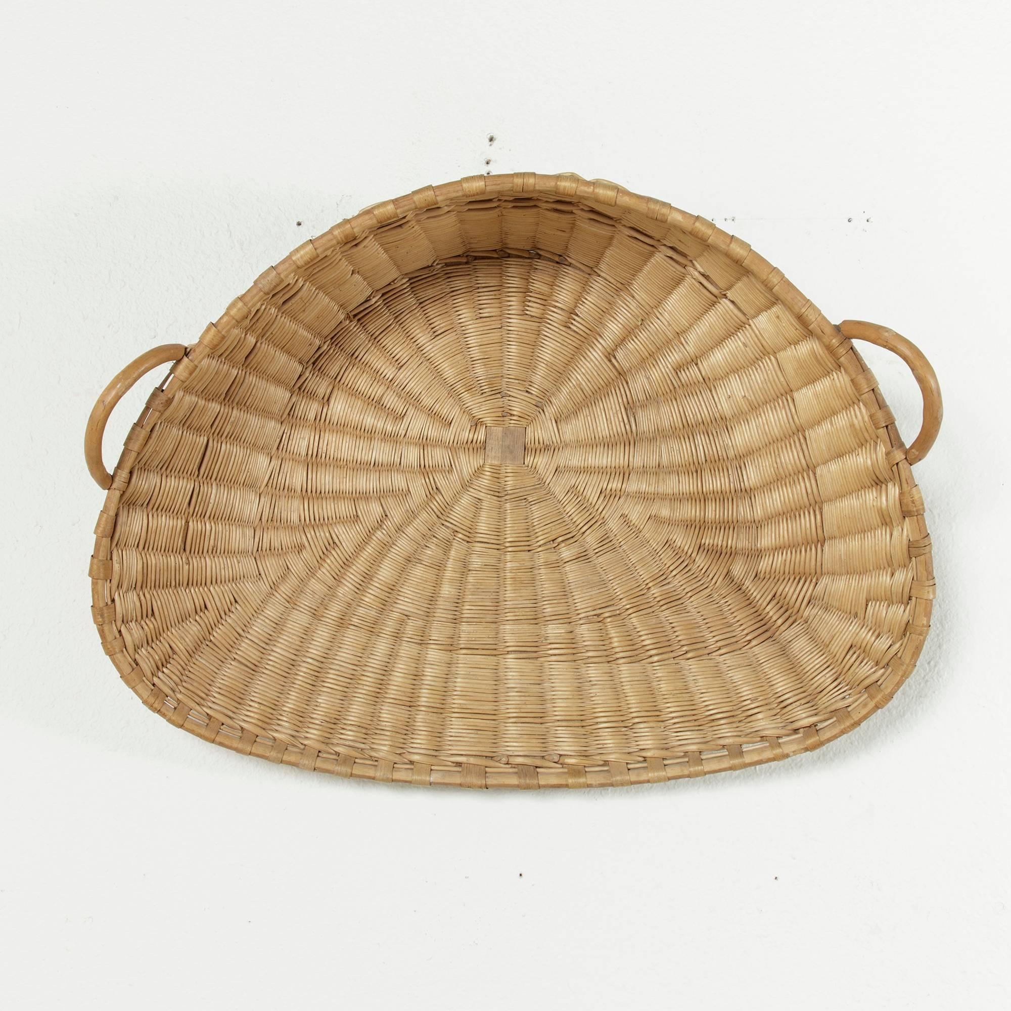Architectural & Garden Antiques Winnowing Basket