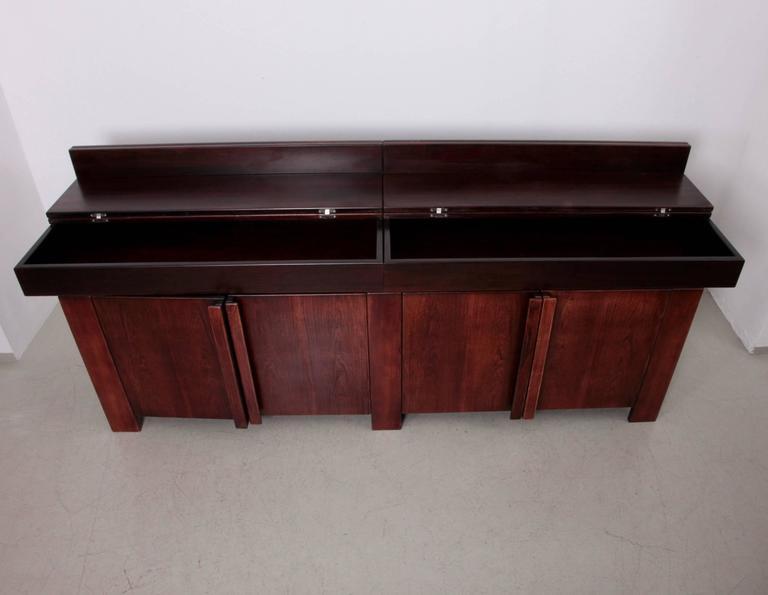 huge german 1970s credenza by rincklake van endert for sale at 1stdibs. Black Bedroom Furniture Sets. Home Design Ideas