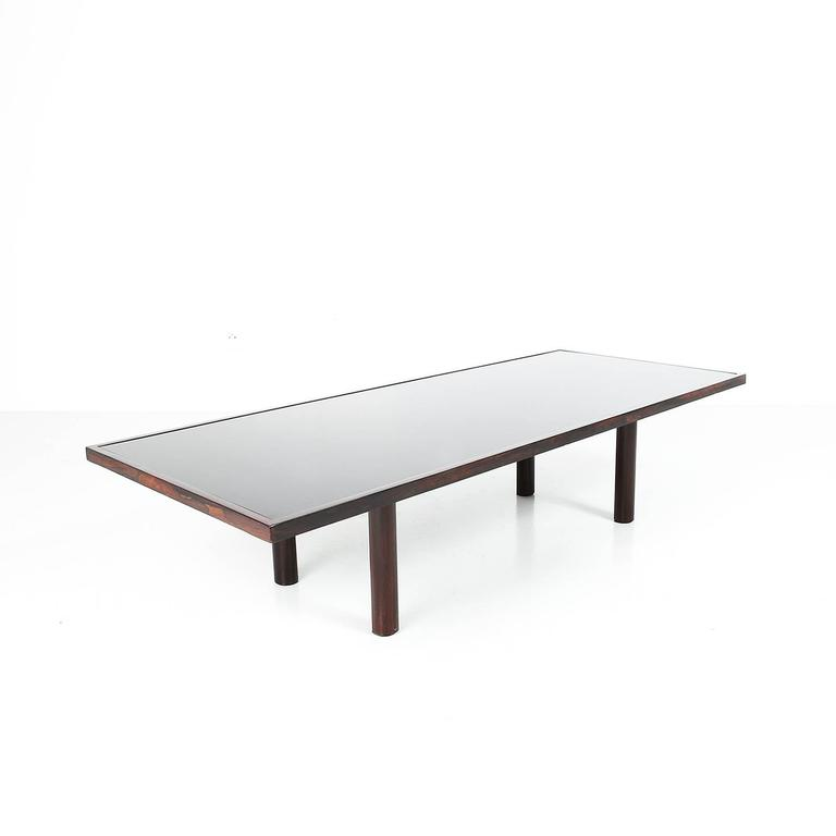 unique coffee table by joaquim tenreiro c 1960 for sale at 1stdibs. Black Bedroom Furniture Sets. Home Design Ideas