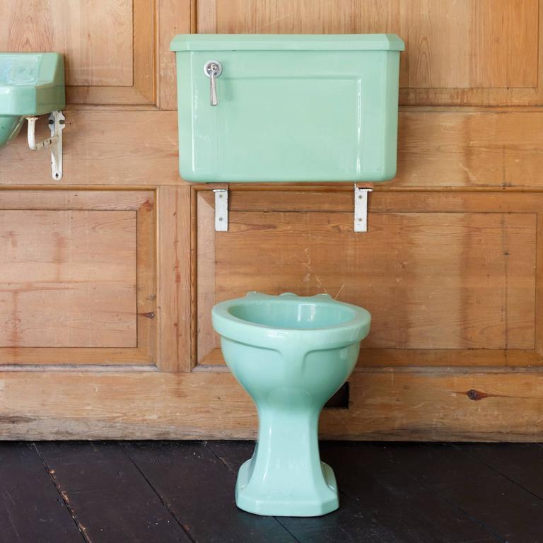 'Latona' Avocado Bathroom Suite at 1stdibs