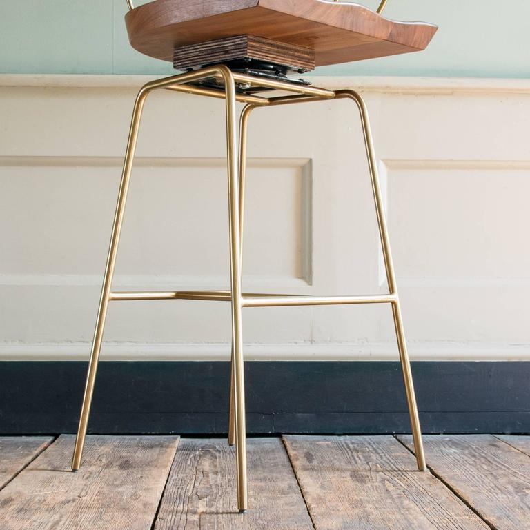 Bassam Fellows Spindle Bar Stool At 1stdibs