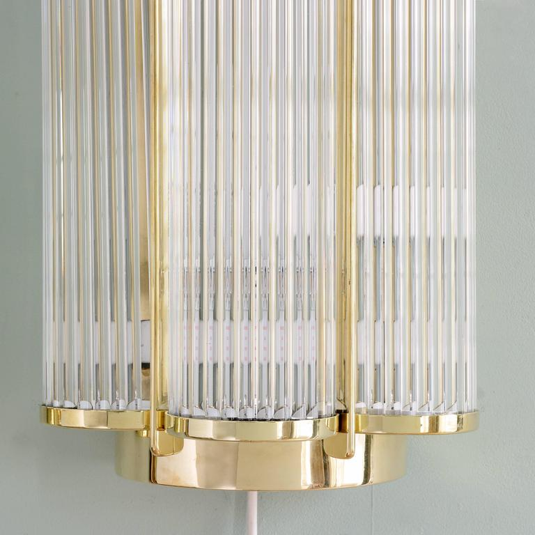 LASSCO Art Deco Style Wall Lights For Sale at 1stdibs