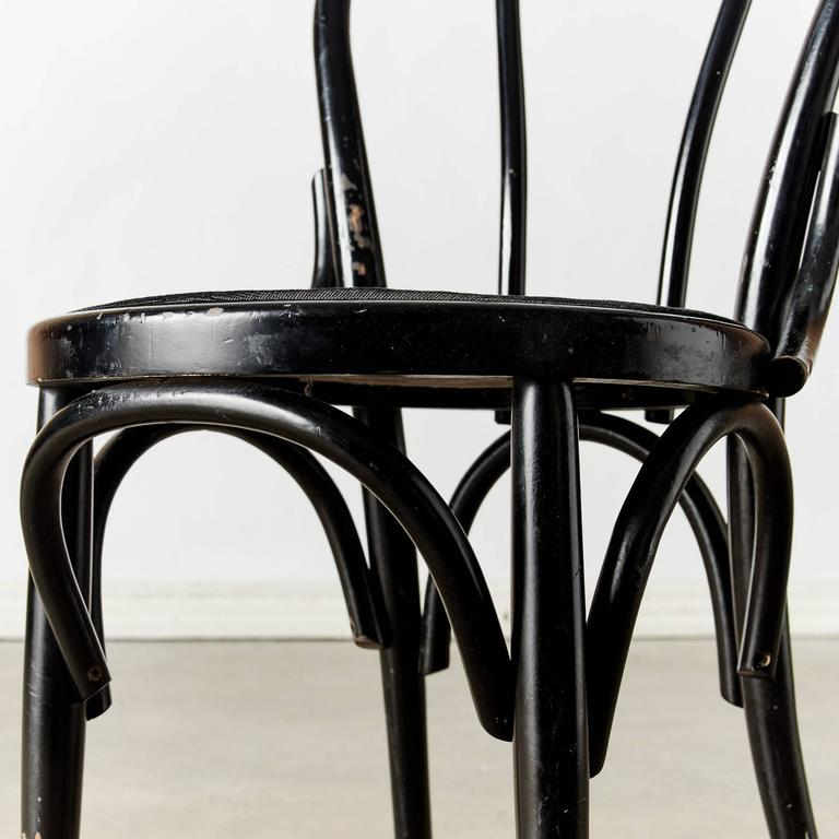 Black Thonet Style Chairs At 1stdibs