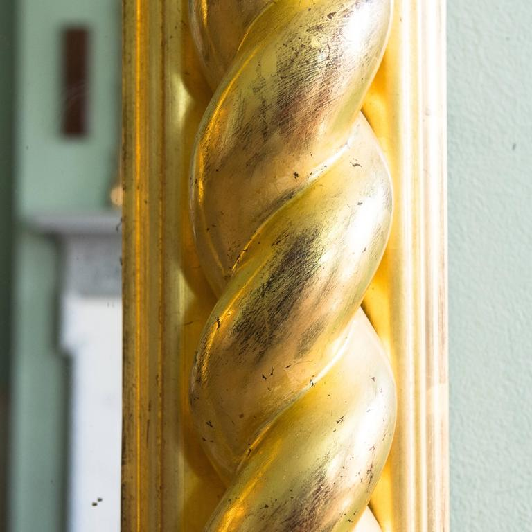Regency Style Giltwood Pier Mirror In Good Condition For Sale In London, GB