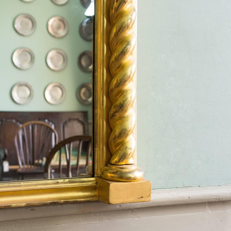 20th Century Regency Style Giltwood Pier Mirror For Sale