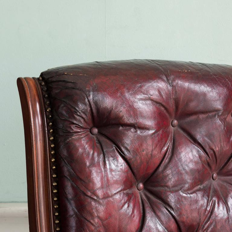 William IV Mahogany Reclining Reading Chair In Good Condition For Sale In London, GB
