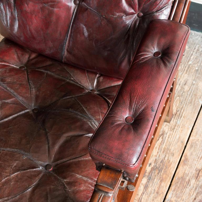 William IV Mahogany Reclining Reading Chair For Sale 2