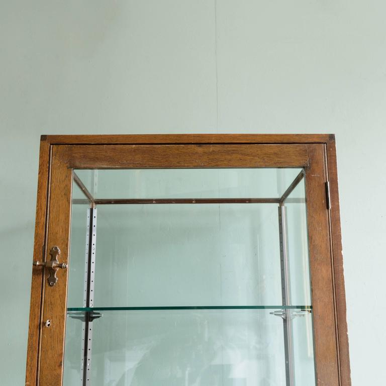 1940s walnut display cabinet for sale at 1stdibs for 1940s kitchen cabinets for sale