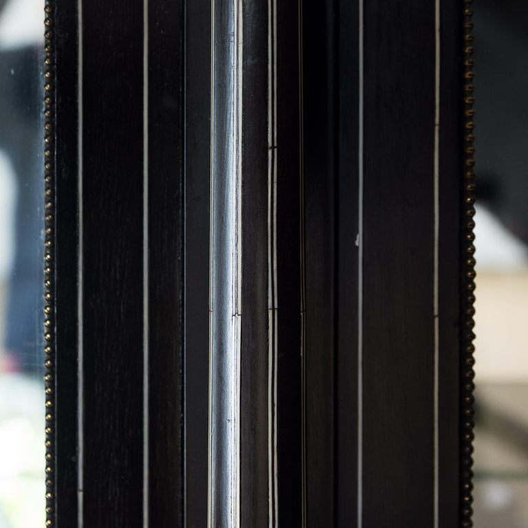 19th Century French Ebonized Side Cabinet For Sale 8