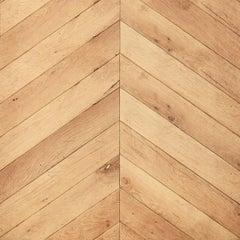 19th Century Carpathian Oak Chevron Parquet Flooring