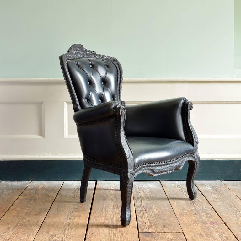 A U0027Smokeu0027 Armchair, Designed By Maarten Baas For Moooi To A French Rococo Nice Ideas