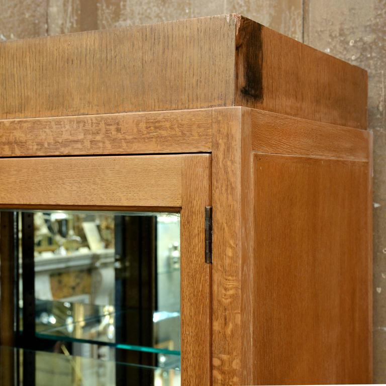 1930s oak display cabinet for sale at 1stdibs for 1930s kitchen cabinets for sale