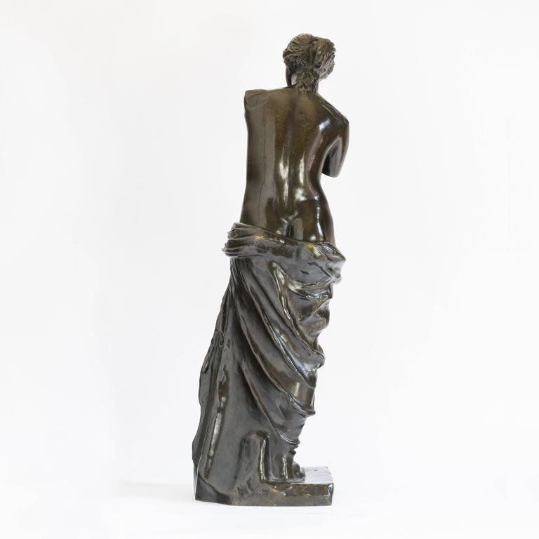 Classical Roman Bronze of Venus De Milo, c.1900 For Sale