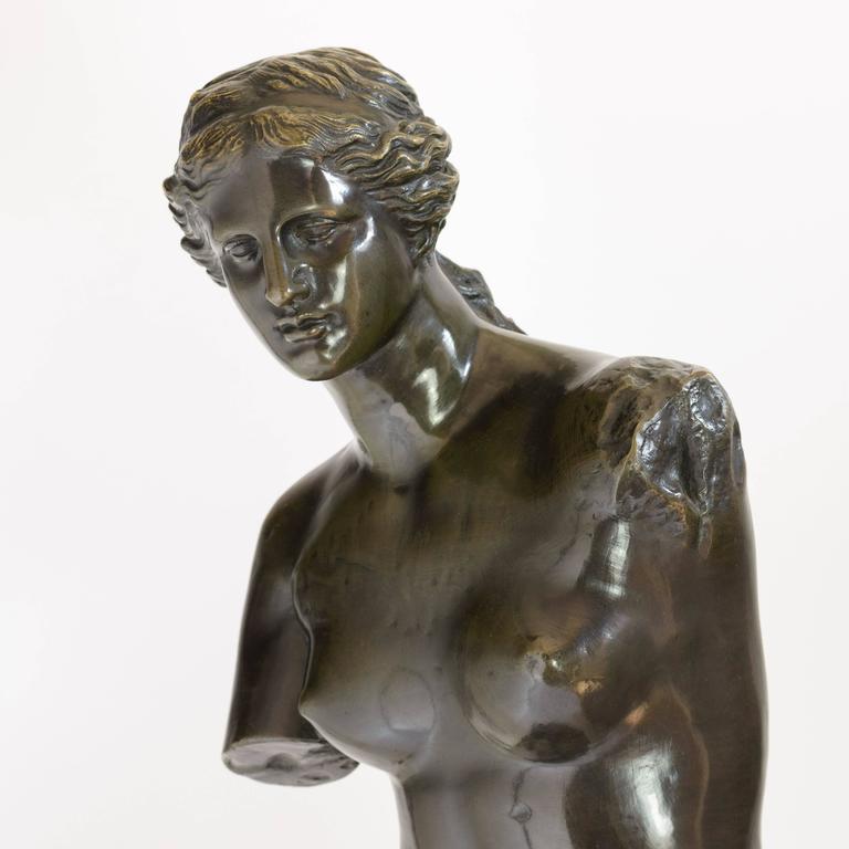 Early 20th Century Bronze of Venus De Milo, c.1900 For Sale