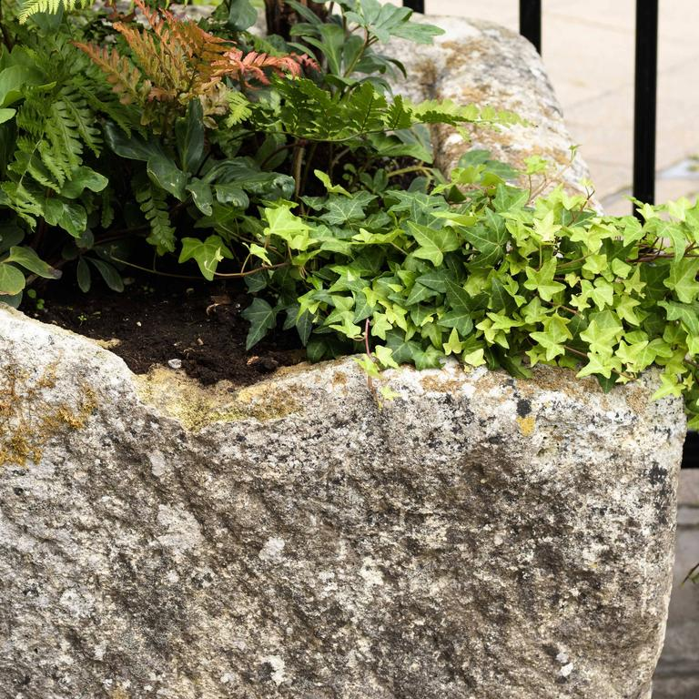 19th Century Large French Limestone Trough For Sale