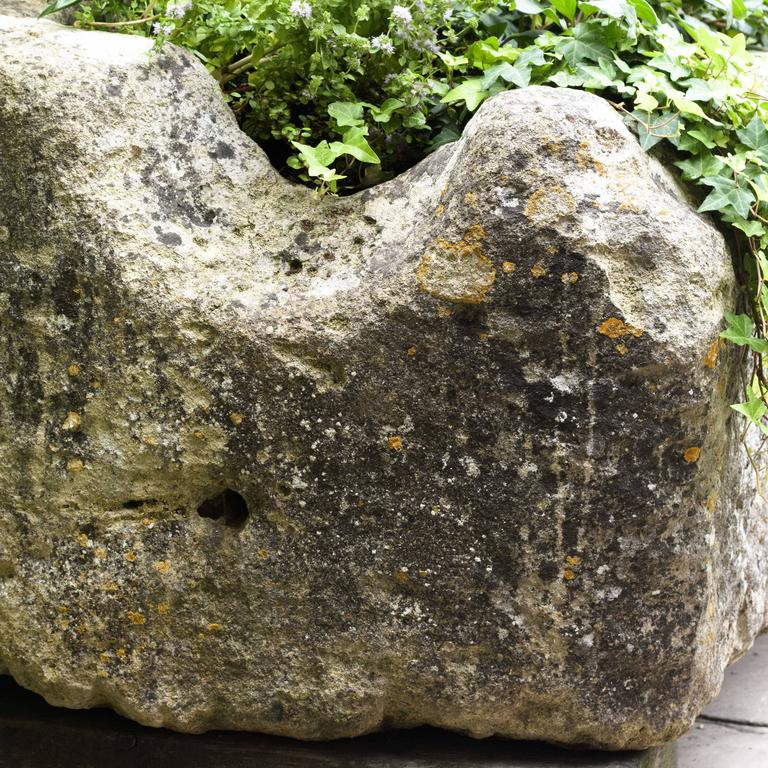 Large French Limestone Trough For Sale 2