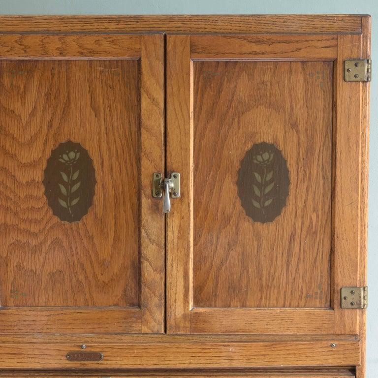 Oak Kitchen Cabinets For Sale: 1920s Hoosier Oak Kitchen Cabinet At 1stdibs