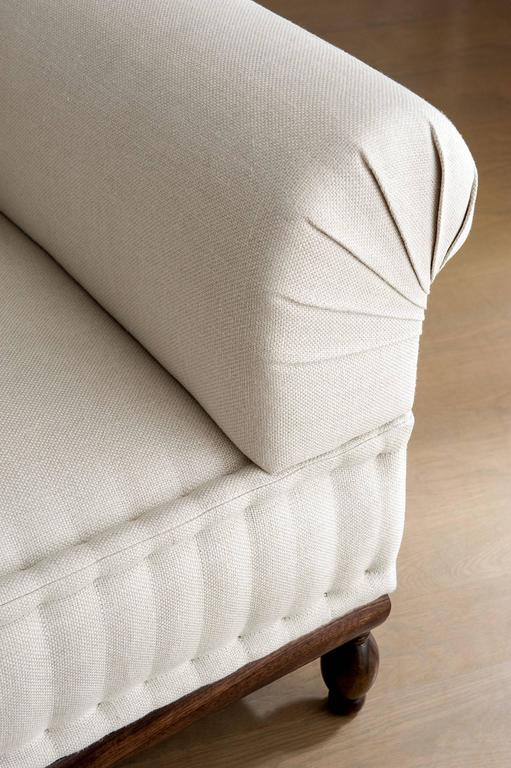 contemporary brampton sofa pleated  custom and made to