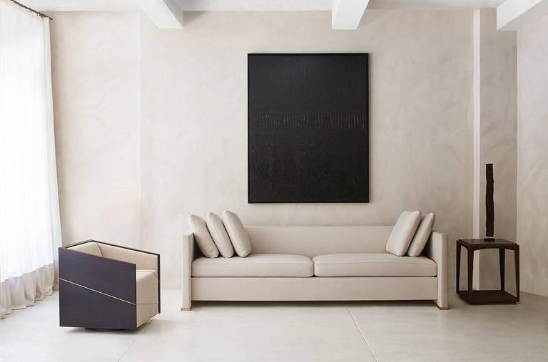 Contemporary Noma Sofa, Custom and Made to Order by Dmitriy & Co 3