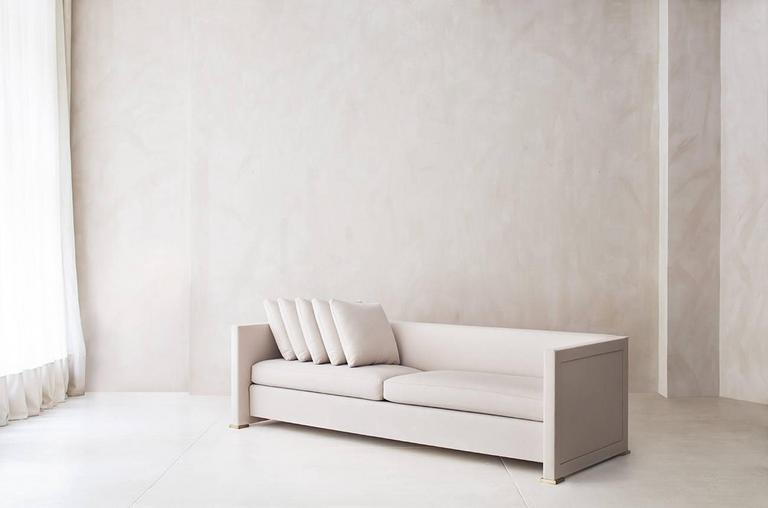 Contemporary Noma Sofa, Custom and Made to Order by Dmitriy & Co 4