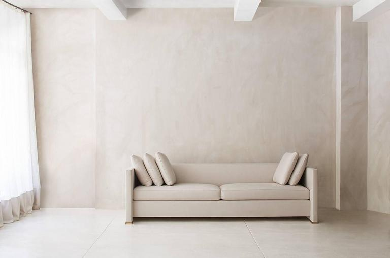Contemporary Noma Sofa, Custom and Made to Order by Dmitriy & Co 6