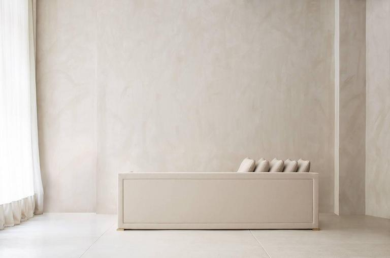 Contemporary Noma Sofa, Custom and Made to Order by Dmitriy & Co 7
