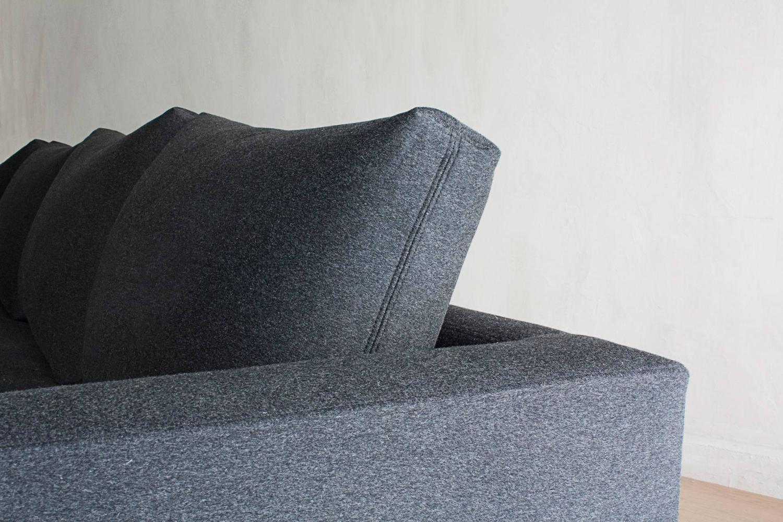 Contemporary chelsea square deep sofa custom and made to for Deep sofas for sale