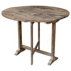 19th Century Wine Tasting Table