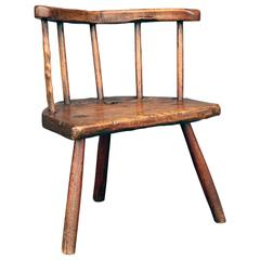 Early 18th Century Stick Chair from Wales