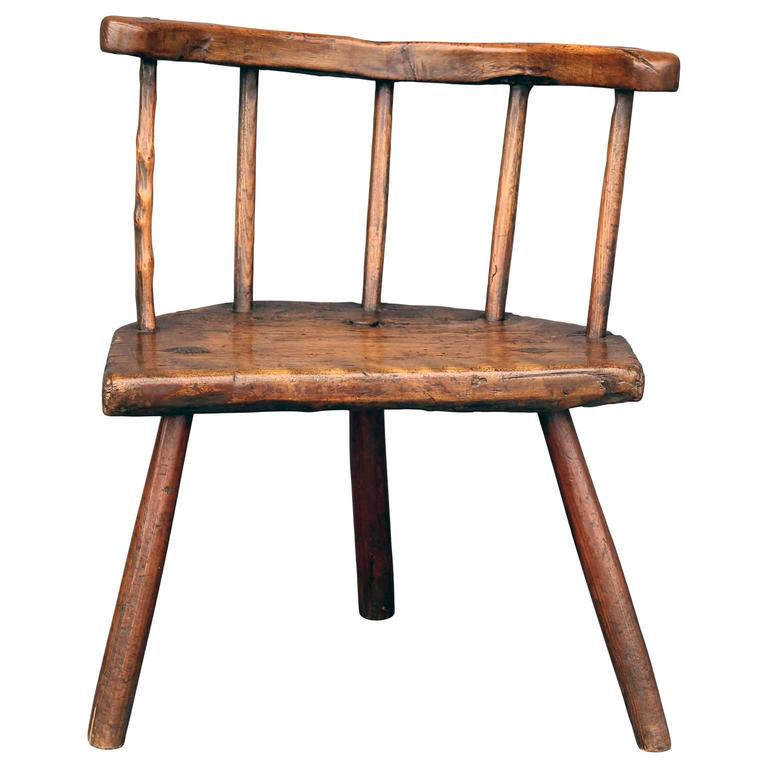 Early 18th Century Stick Chair From Wales At 1stdibs